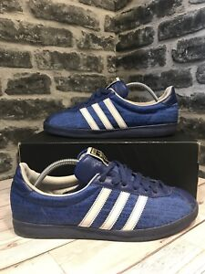 timeless design c3742 36d4a Image is loading Vintage-2007-Adidas-Originals-Olympia-Munich-72-Trainers-