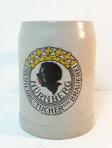 Vintage-Stein-Freiherrl-v-Tuchersche-Brauerei-Nurnberg-Tucher-Brauerei-0-5l