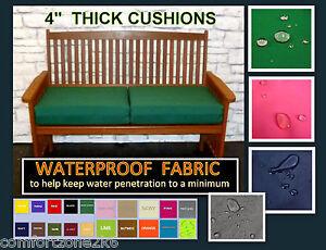 Zippy 4 Thick Waterproof Fabric 2, Waterproof Garden Bench Pads Uk