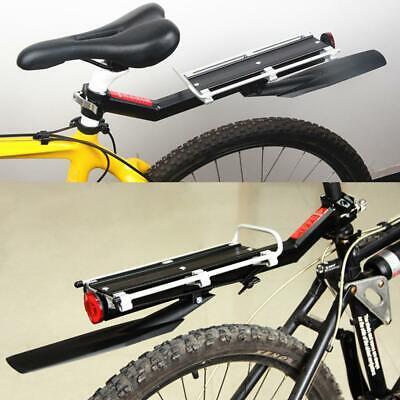 Bike Mount Bicycle Rear Rack Seat Post Mount Pannier Luggage Carrier Aluminum