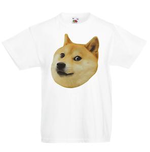Doge Kid/'s T-Shirt Children Boys Girls Unisex Top