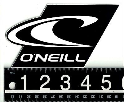 O/'NEILL XL SURF STICKER O/'Neill Watersports 12 in x 6.25 in Large Red Surf Decal