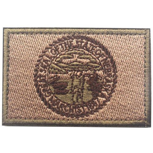 USA Nebraska NE STATE FLAG U.S ARMY EMBROIDERED MORALE TACTICAL PATCH #3