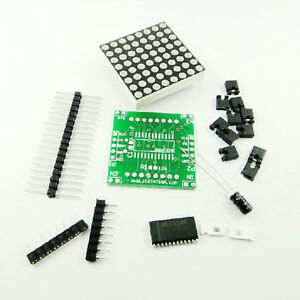 5Stk-Neu-MAX7219-Dot-Matrix-Module-DIY-kit-Cascade-Control-Display-Module
