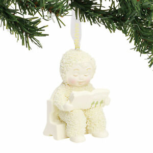 Dept 56 Snowbabies New 2018 FIRST BOOK Snowbaby Ornament 6000889 NIB