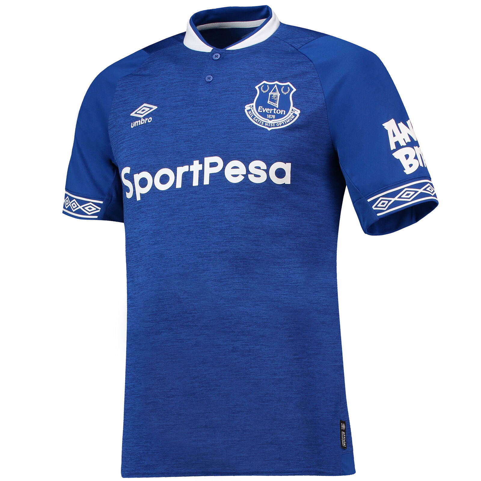 Everton Offiziell Heim Shirt Hemd 2018-19 Herren Umbro Fußball Kurzarm Trikot