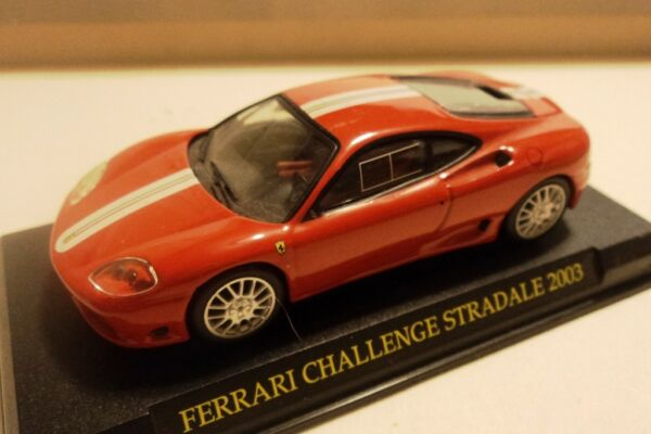 - Ferrari 360 Challenge Stradale Road Car - 2003 - 1/43 - Defect Defaut Difetto Buona Reputazione Nel Mondo