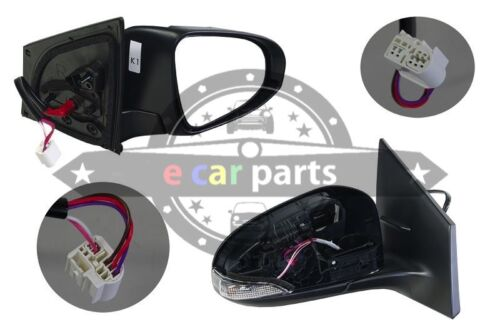 TOYOTA COROLLA ZRE182 01//2013-ON RIGHT HAND SIDE DOOR MIRROR  ELECTRIC//INDICATOR
