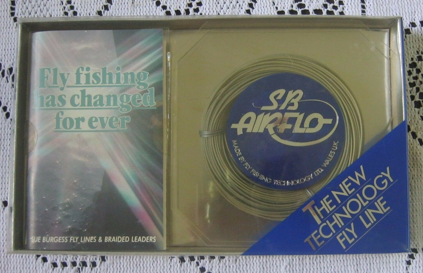 NOS SB Airflo Fly Fishing Intermediate 90' 30 yd DT-6-1 Special Line Wales UK