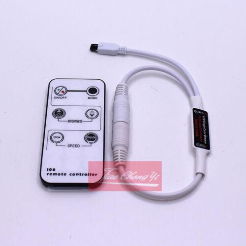 LED Single Color Dimmer 5-24V 6A 6Key IR LED Strip Controller For 50505630 Strip
