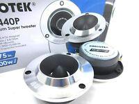 Audiotek - Atw440p - Car Vehicle 500 Watts 1.75 Titanium Super Tweeter Pair