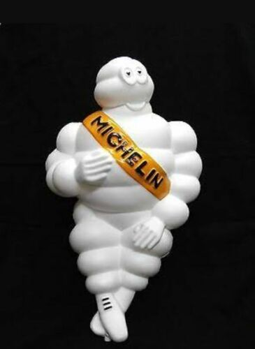 30x8 inches Limited Michelin Man Figure Bibendum Doll Truck Tire Advertise fire
