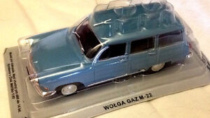 Wolga-Gaz-M-22-Azzurra-Scala-1-43-DeAgostini-Nuova