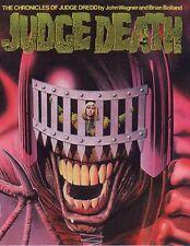 2000AD ft JUDGE DREDD: JUDGE ANDERSON in DEATH'S DARK DIMENSION - G/NOVEL - VGC