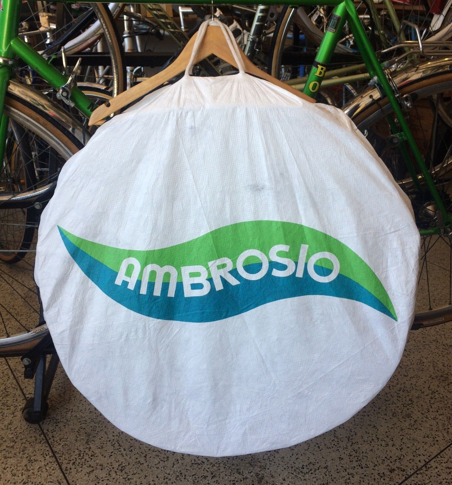 Vintage Wheel Bag --- NOS --- Ambrosio ---  700c  best offer