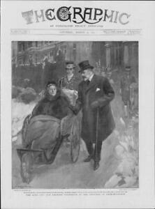 1901-Antique-Print-GERMANY-Friedrichshof-Empress-Frederick-King-214