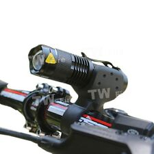 Bicycle headlight 200+ lm light CREE Q5 zoom headlamp Cycling accessories