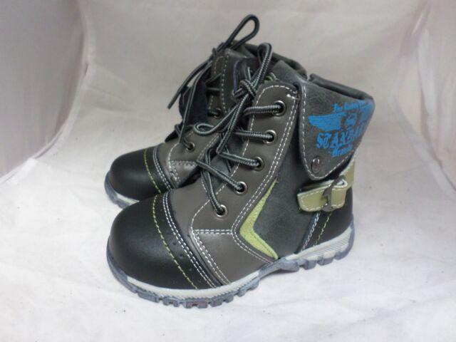 Blue BNWT M/&S Fleece Fully Lined Pull On Boot Slippers UK6 EU 23 Infants
