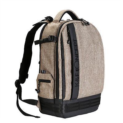 K&F Concept DSLR SLR Camera Backpack Bag Case fr Canon EOS Nikon Sony Waterproof