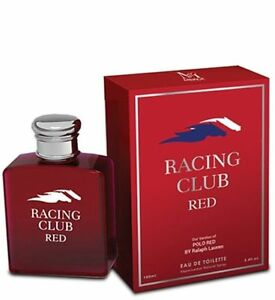 Racing Club Red Mens Designer Impression 34 Oz Edt Cologne By