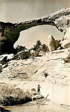 1930s RPPC; Owachomo, Natural Bridges National Monument UT Santa Fe Camera Shop