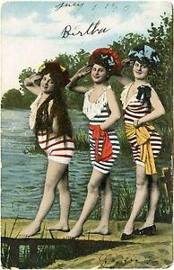 Three bathing beauties