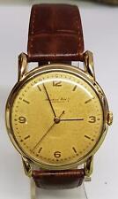 ORIGINAL IWC  INTERNATIONAL WATCH CO SCHAFFHAUSEN 18K GOLD  CIRCA 1945