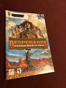 Desperados Wanted Dead Or Alive Pc Cd Computer Game Manual Only Ebay