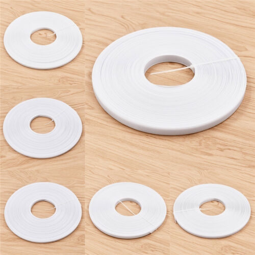 White Plastic Bone Easy Sewing Shape for Garments DIY Handmade Fixed Clothes