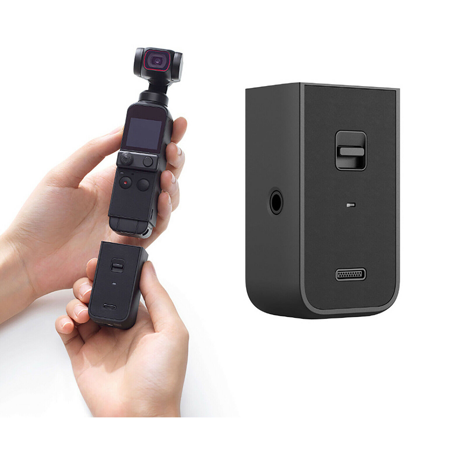 For DJI Osmo Pocket 2 Do-It-All Handle Wireless Bluetooth External Microphone