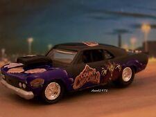 1966 CHEVY CHEVELLE MALIBU DRAG CAR collectible model - 1/64 scale diorama  T
