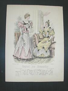 * Page Du Journal Des Demoiselles 1er Fevrier 1894 Bis