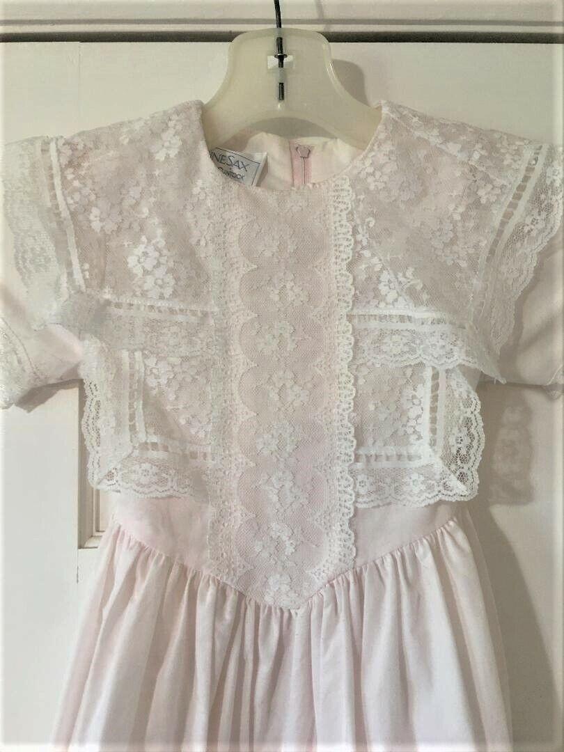 Vintage Girls Toddler Size 5 Gunne Sax Dress Prai… - image 2