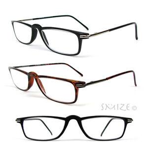 reading glasses single vision rectangle frame lightweight