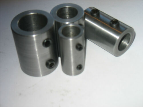 "25 MM ID  X   3/"" Long Shaft Coupling Steel"