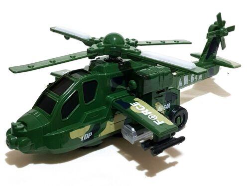 Spielzeug Helikopter Hubschrauber Heli Selbstfahrend LED Sound inkl Batterien