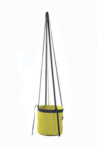 Bacsac Batyline Fabric Round Hanging Pot Acid Green Size 10 L
