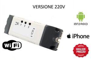 Controllo Motori Wifi Wireless Remoto Tapparelle Tende Avvolgibili - 220v