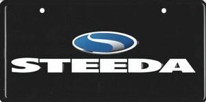 STEEDA Logo License Plate * OEM * New * US Sized Plates * Mustang FREE USA SHIP!