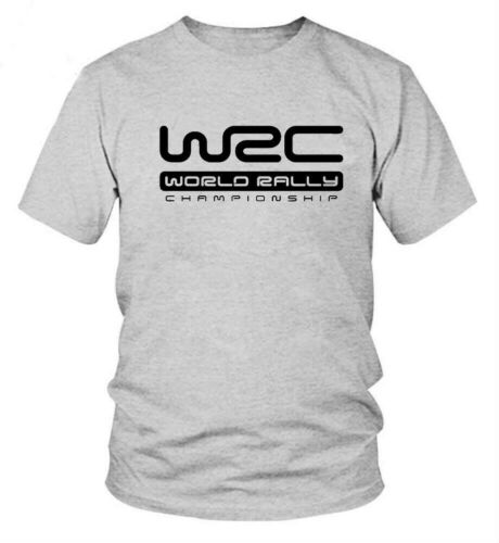 Mens T Shirt World Rally Championship WRC Style Short Sleeve Summer Tee Tops