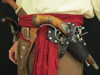Pirates Leather Gun Holster