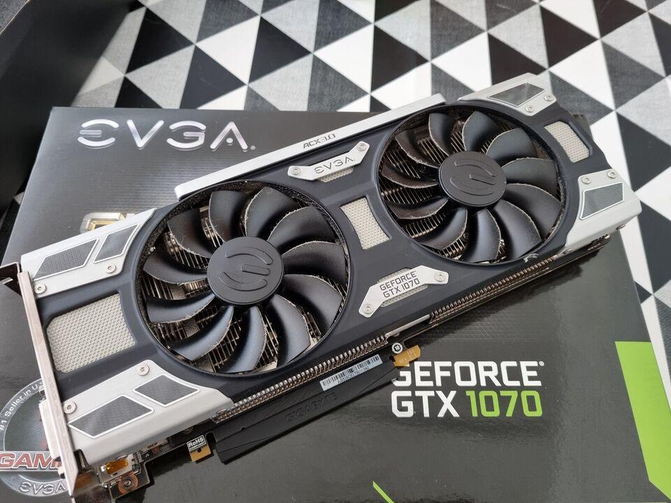Gtx 1070 8gb sc gaming Evga, 8gb GB RAM, Perfekt