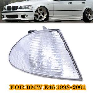 Corner-Light-Turn-Signal-Lamp-Right-Passenger-Side-Clear-Fits-BMW-E46-1999-2001