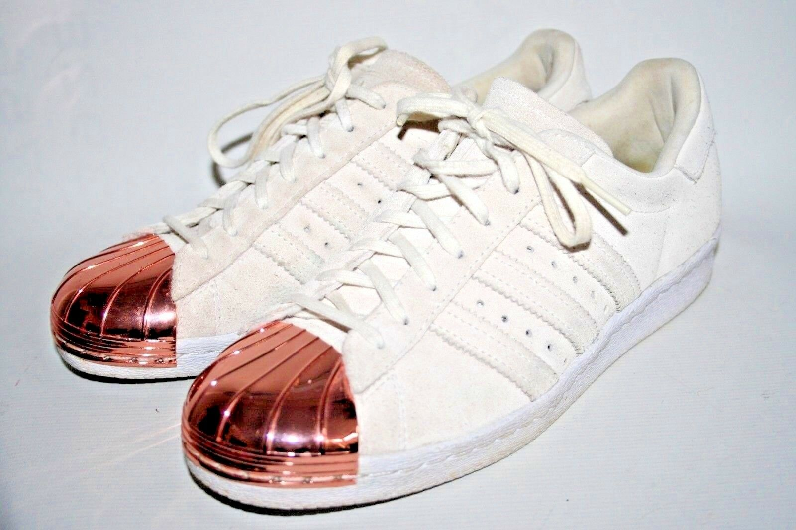 Adidas Originals Steel Toe damen damen damen schuhe Trainers Beige Suede Limited Leather 6UK 20ed35