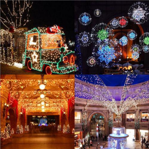 15M 200 LED String Fairy Lights Lamp Christmas Wedding Halloween Waterproof 50ft