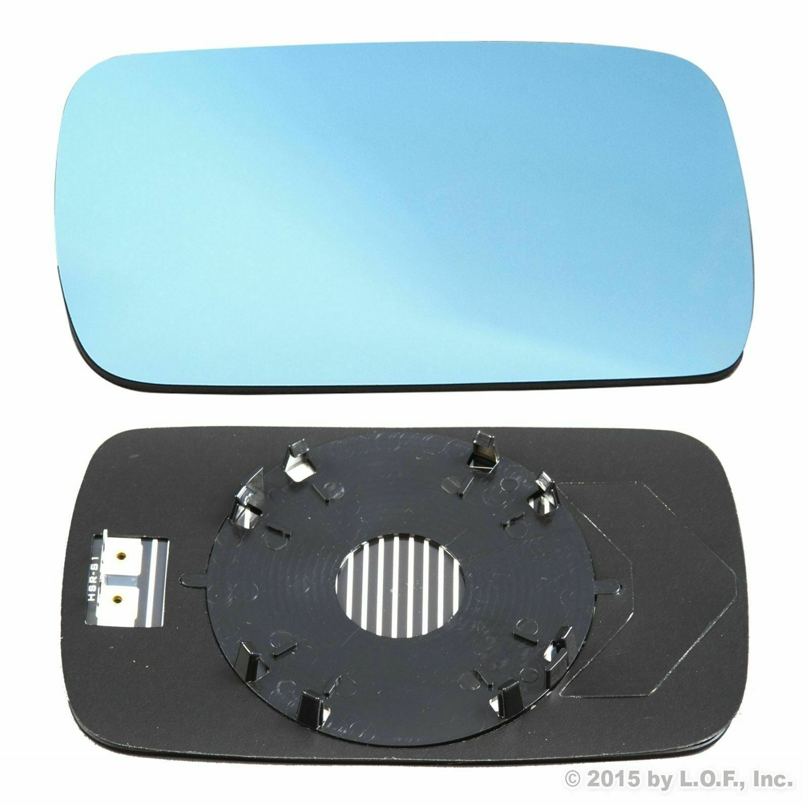Wing Mirror Glass For BMW 1 Series With Base-Heated Aspheric 2010-JULY RH Side