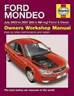 Ford Mondeo Petrol and Diesel Service and Repair Manual: 2003 to 2007 by R. M. Jex (Hardback, 2007)