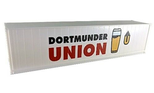 Brekina 10160-1//87 Container 40ft-Container Dortmunder Union Bier Neu