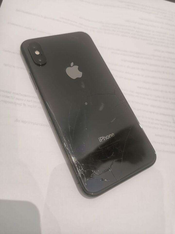 iPhone XS, 64 GB, grå
