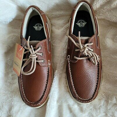 Dockers Mens Beacon Genuine Leather Casual Classic Boat Shoe with NeverWet